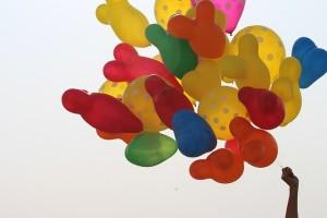 eldobható hélium palack lufi